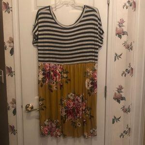 Buttery Soft Dress by Oddy, Size 1X, New W/Tags